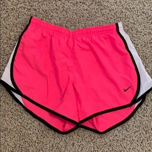 Nike Bottoms - Nike Dri Fit NEON PINK kids shorts.